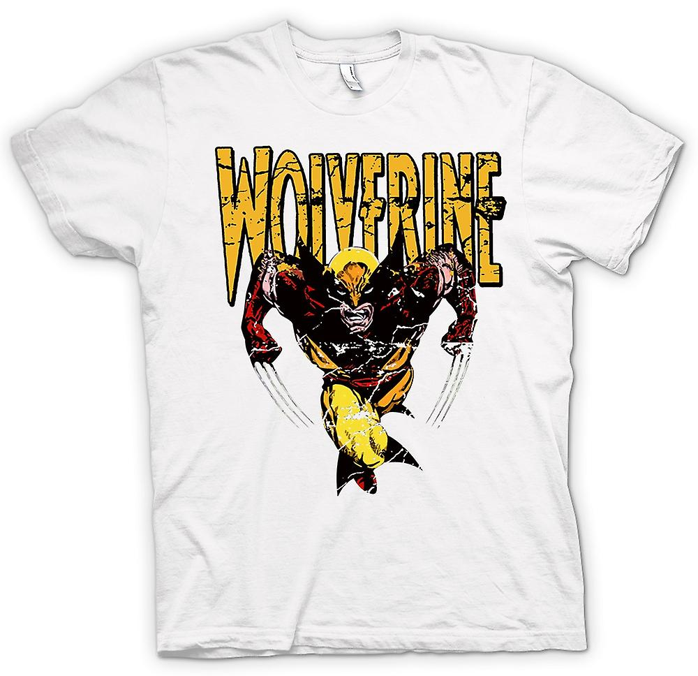 Womens T-shirt - Wolverine - Classic Comic Hero