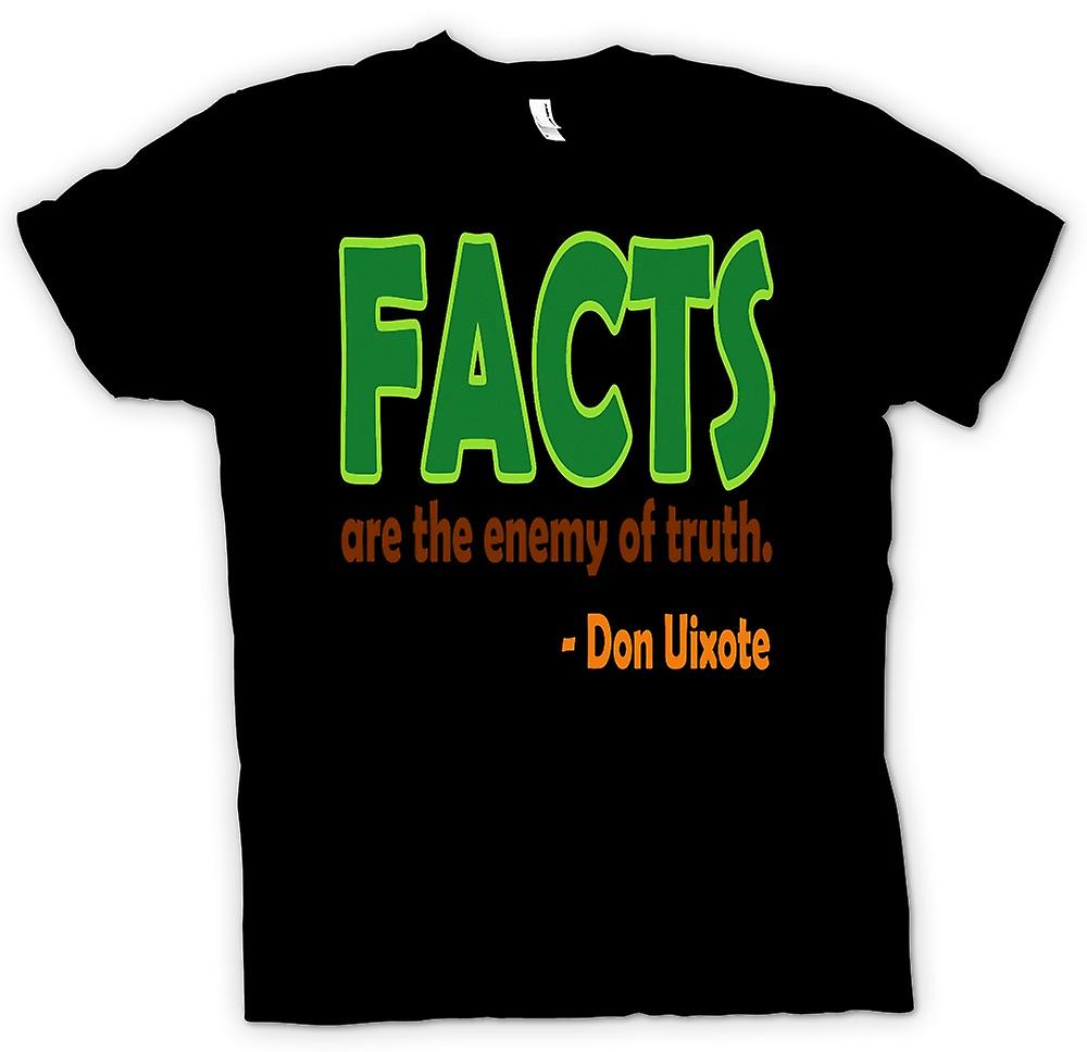 Kids T-shirt - Facts are the Enemy of the Truth - Don Uixote