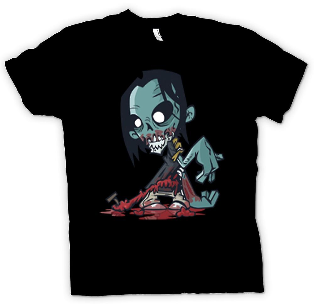 T-shirt-Cartoon Zombie Undead Design