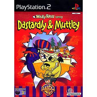 Skøre løb stjernespækket nedrige møghund Muttley (PS2)