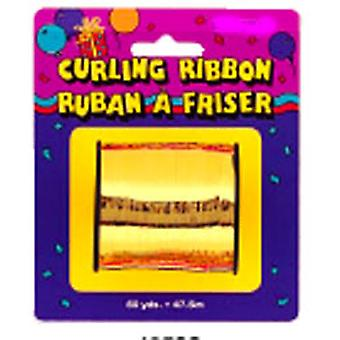 Curling Ribbon For Balloons Metallic Gold