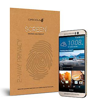Celicious Privacy 2-Way Anti-Spy Filter Screen Protector Film Compatible with HTC One M9s