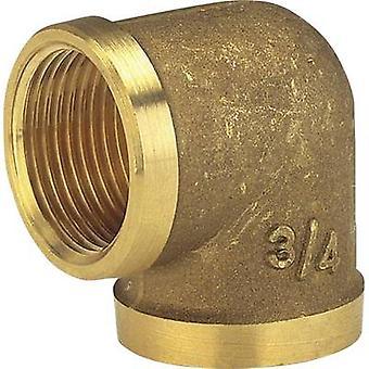 GARDENA 7280-20 Brass Elbow piece 24.2 mm (3/4) IT