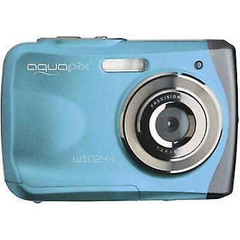 EasyPIX W1024-jeg Splash Digital kamera 16 MPix blå undervanns kamera
