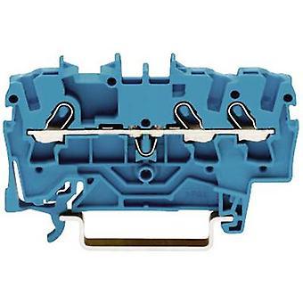 WAGO 2001-1304 continuïteit 4.20 mm trekken voorjaar configuratie: N Blue 1 PC('s)