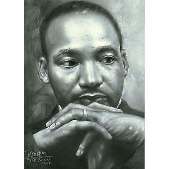 Martin Luther King Jr. Mlk køleskab Magnet