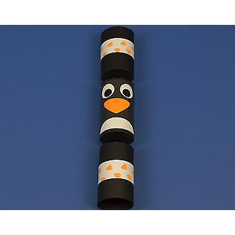 Craft Kit to Make 8 Penguin Fill Your Own Party Crackers