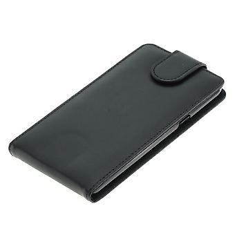 Handyhülle Tasche für Handy Samsung Galaxy C5 Schwarz