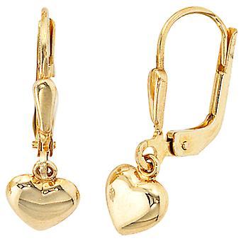 Boutons 333 /-g-oro pendientes oro pendientes oro pendientes