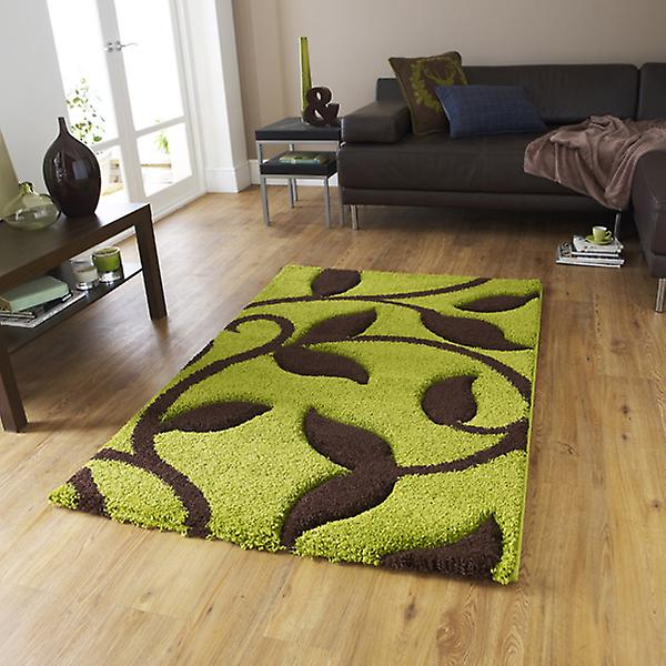 Rugs - New Art Fashion 7647 Green Brown