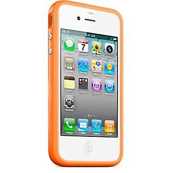 Original Apple iPhone 4/4s caso para-choques (laranja)
