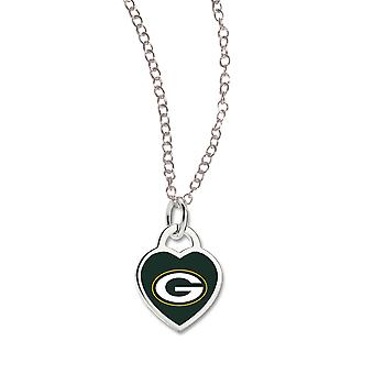 Wincraft ladies Heart Necklace - NFL Green Bay Packers