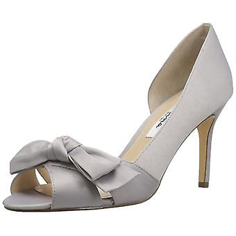 Nina Womens forbers 2 Leather Open Toe Classic Pumps
