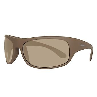 Polaroid gentlemen Sunglasses brown with glasses pouch 07886J K30