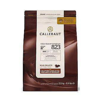 Callebaut 34 % Milchschokolade '823' Callets