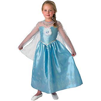 Faschingskostüme für Kinder Disney Elsa Kleid Frozen
