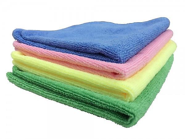Micro Fibre Plus Cloth | 40 X 40cm | 230gsm | Blue - Single Cloth