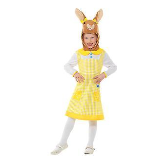 Peter Rabbit, silvilago Costume Deluxe, Peter Rabbit TV, piccola età 4-6