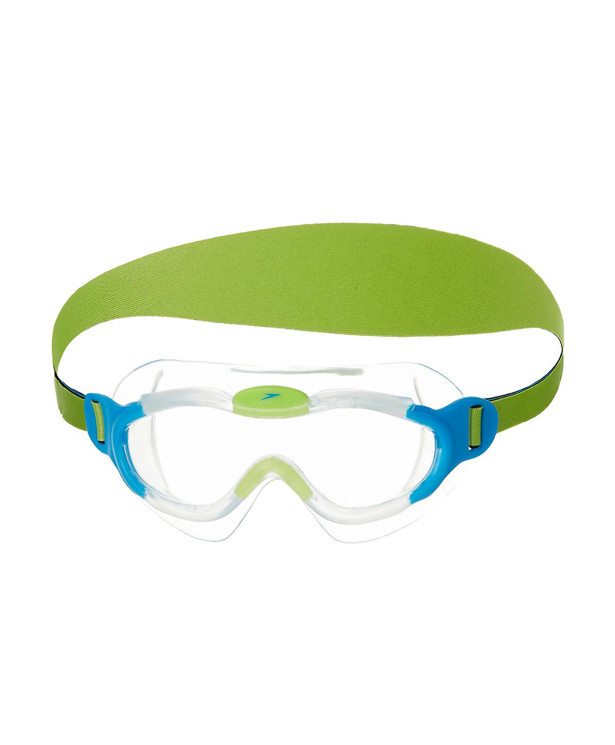 Speedo Sea Squad Junior Swim Mask - Clear Lenses - Blue
