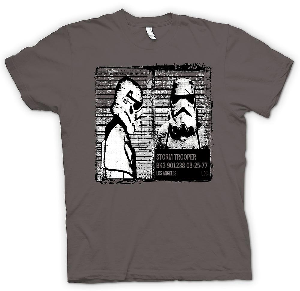 Womens T-shirt - Storm Trooper mugg skott - Funny