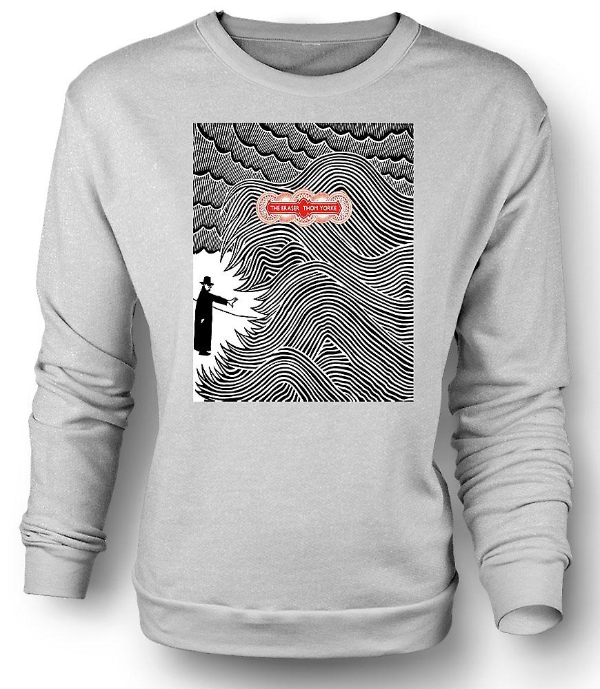 Heren Sweatshirt Thom Yorke - Radiohead gum