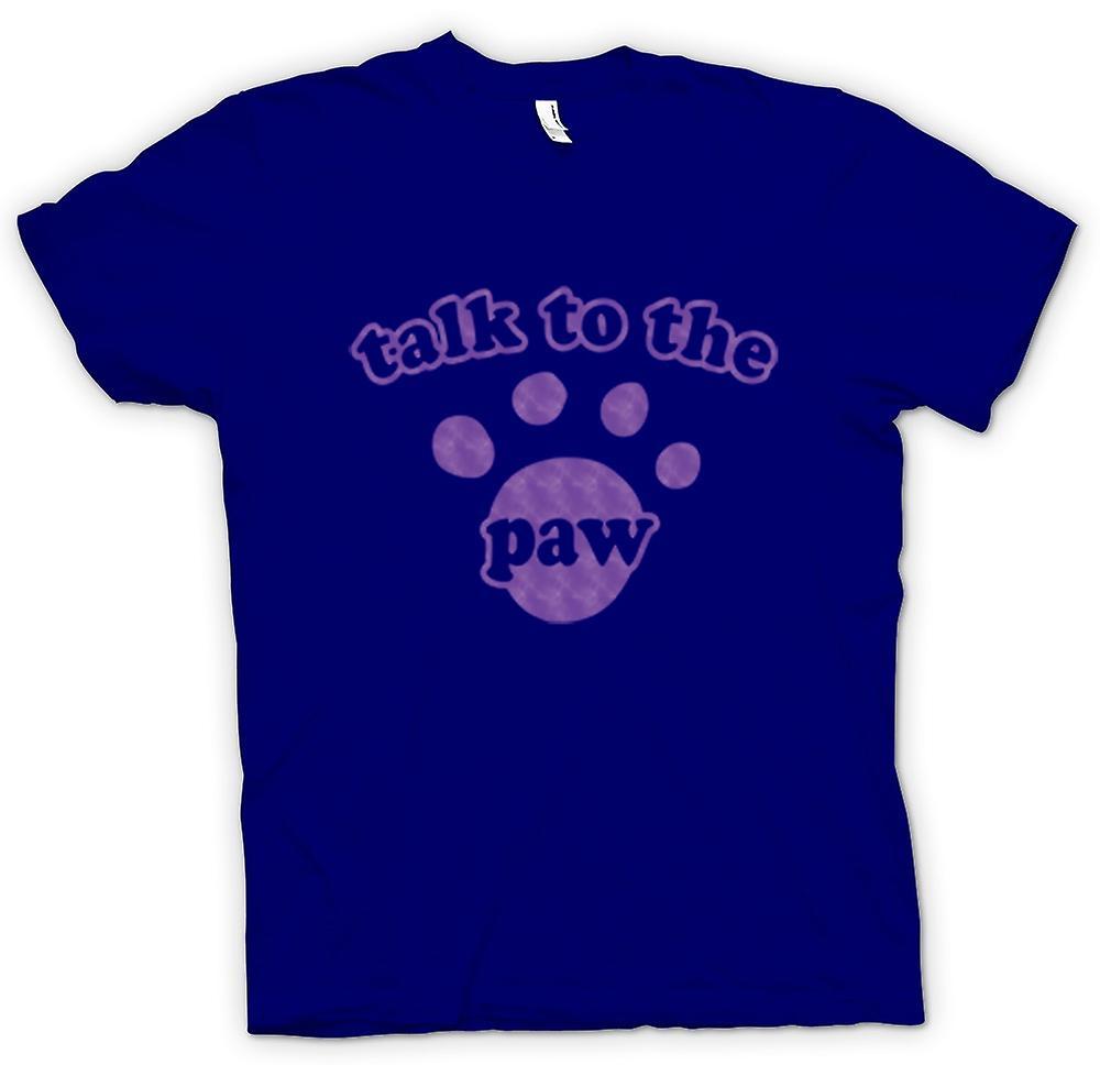 Mens T-shirt-Hund-Katze