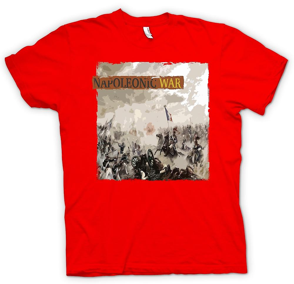 Mens T-shirt - Napoleonic War - French v English