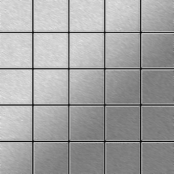 Metal mosaic Stainless Steel ALLOY Century-S-S-B