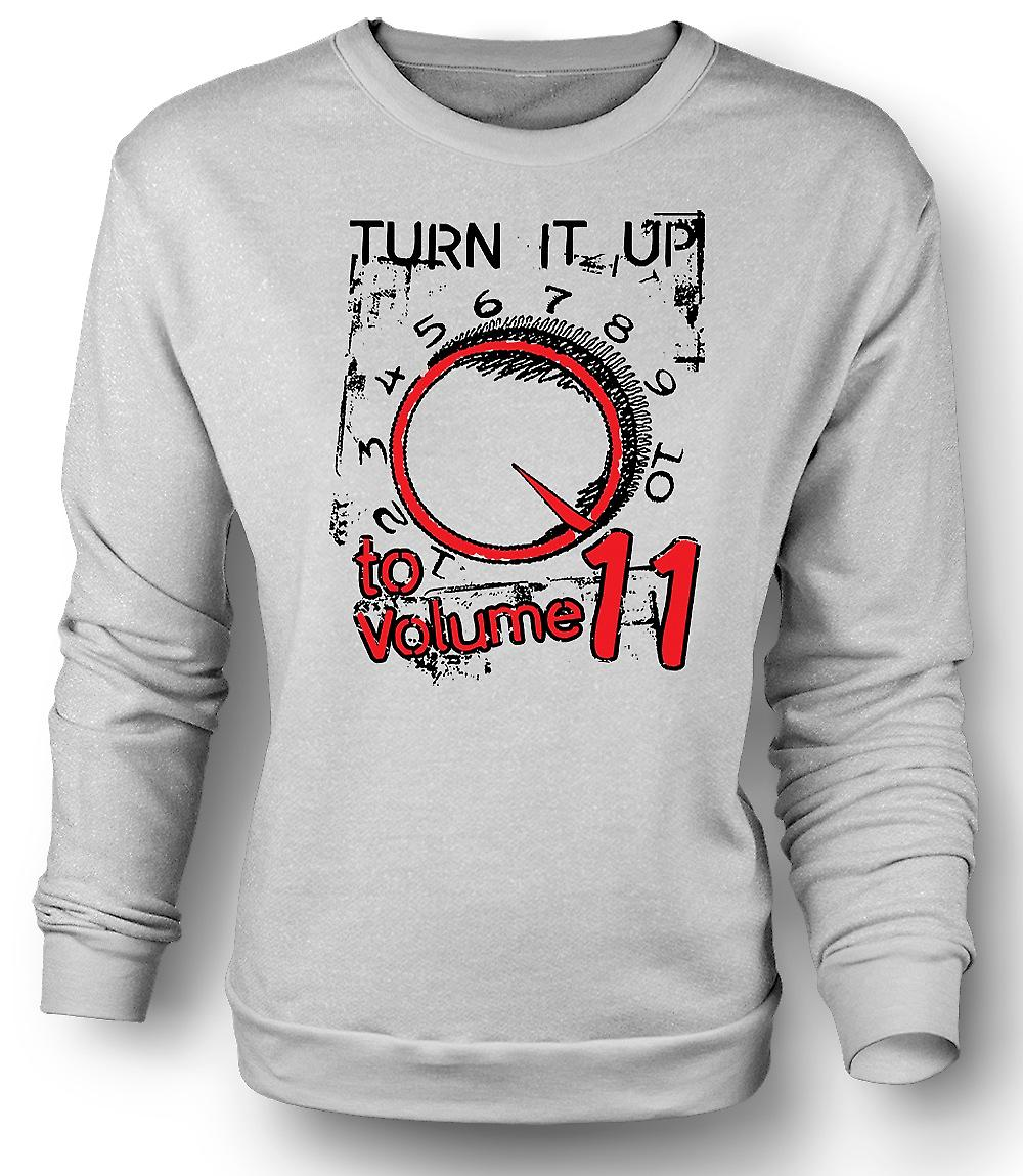 Mens Sweatshirt Spinal trykk Volume 11 - Funny