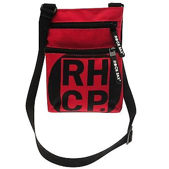 Rock Sax Red Hot Chili Peppers Red Square Body Bag