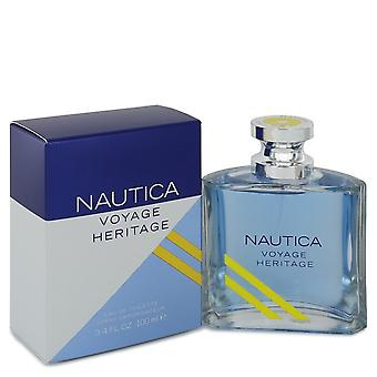 Nautica Voyage Heritage by Nautica Eau De Toilette Spray 3.4 oz / 100 ml (Men)