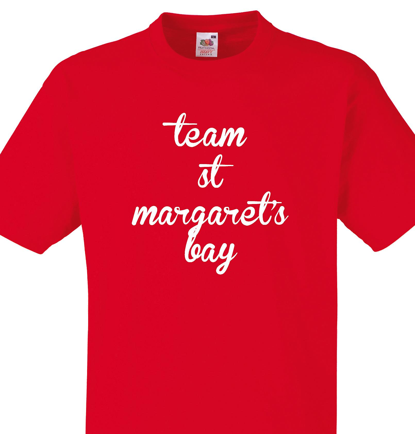 Team St margaret's bay Red T shirt