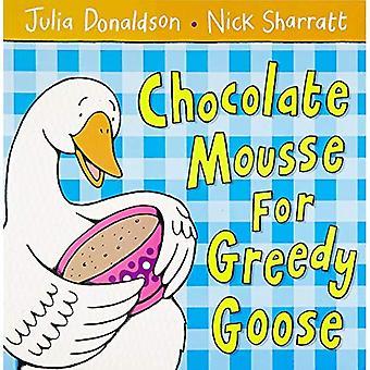 Choklad Mousse för giriga gås