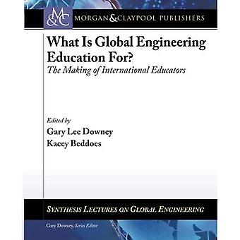 What Is Global Engineering For?: The Making of International Educators