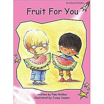 Frukt för dig: före reading (röd raket läsare: Fiction uppsättning A)