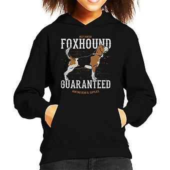 Foxhound jacht vistuig en leveringen Kid's Hooded Sweatshirt