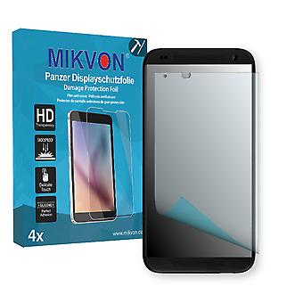 HTC Desire 610 Screen Protector - Mikvon Armor Screen Protector (Retail Package with accessories)