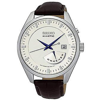 Seiko men's SRN071P1 leather strap analogue watch