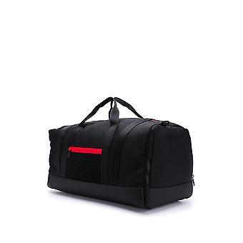 Moncler Black Fabric Travel Bag