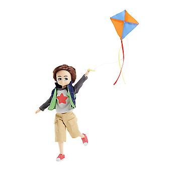 Lottie Doll Boy Kite Flyer Finn Outfit Accessories Set Tangle Resistant Hair