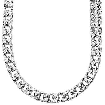 Premium bling - Sterling 925 Silver Chain FRANCO - 7x7mm