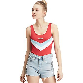 Levi's Florence Bodysuit Red 51