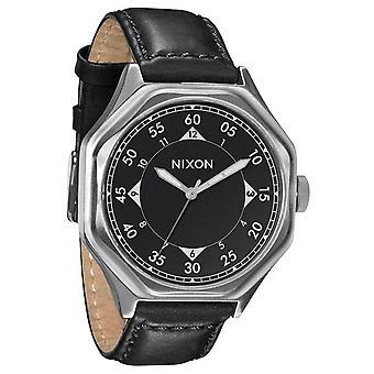 Nixon die Falcon Leather Black Herrenuhr (A196000)