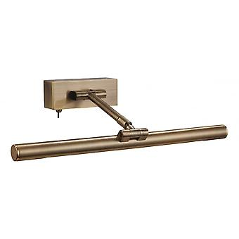 Firstlight Modern Antique Brass Picture Light With Switch (395mm)