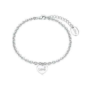 s.Oliver Jewel Damen Armband Armkette Silber Herz Zirkonia 2026083
