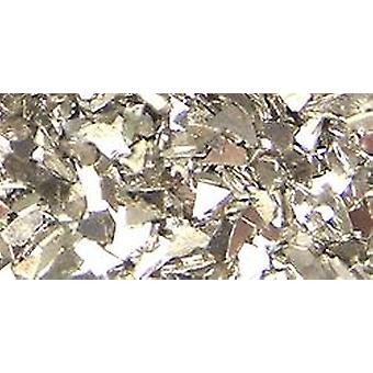 Art Mechanique Inclusions German Glass Glitter .5oz-Silver SLKGG-12751