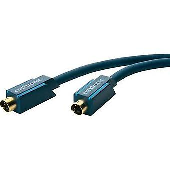 Cable de AV de S-video [1 x enchufe de S-video - 1 x clavija de S-Video] 2 m azul clicktronic