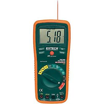 Handheld multimeter digital Extech EX470 Calibrated to: Manufacturer standards CAT III 600 V Display (counts): 4000