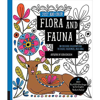 Rockport Books-Just Add Color - Flora & Fauna RKP-91327