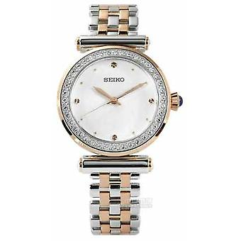 Seiko Womens Two Tone Rose Gold SRZ466P1 Watch
